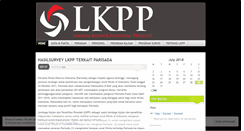 Preview of lkpp.peradah.org