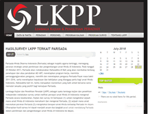 Tablet Preview of lkpp.peradah.org